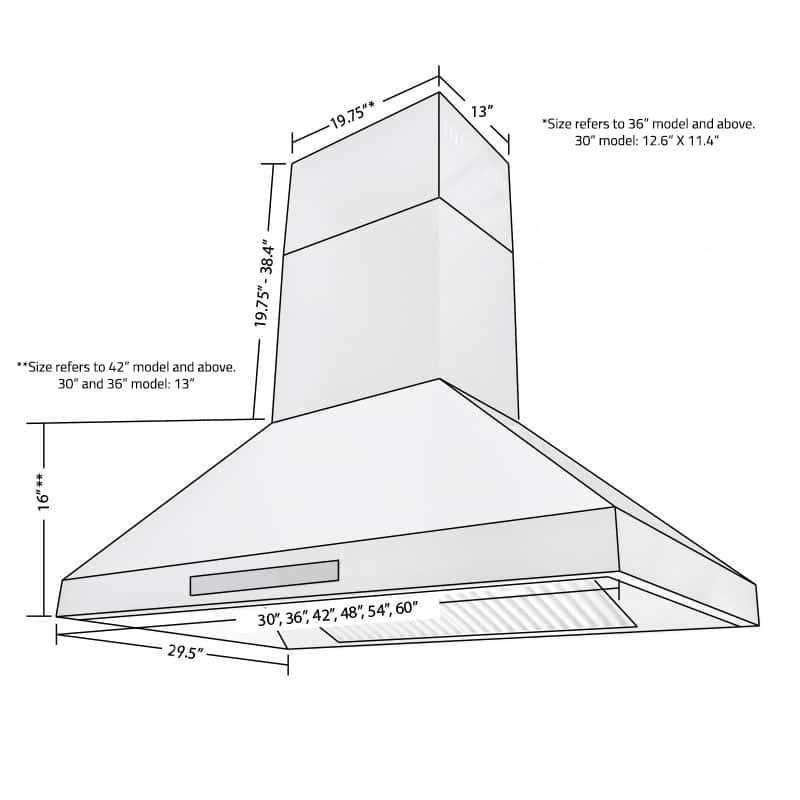 hotte de cuisine keops professionnelle pure design brossard. Black Bedroom Furniture Sets. Home Design Ideas