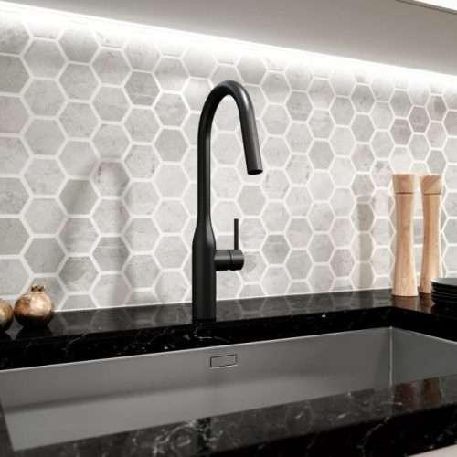 Décor robinet de cuisine Kaviar