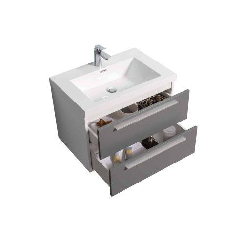 Vanité de salle de bain Fiorentina vue de haut