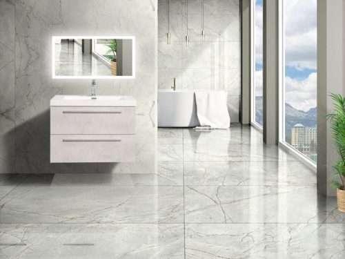 Vanité de salle de bain Fiorentina - ciment