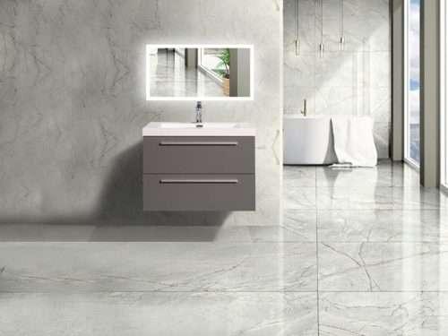 Vanité de salle de bain Fiorentina - gris