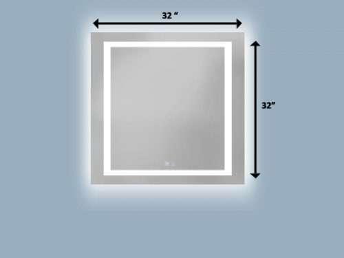 miroir dimensions 32 pouces